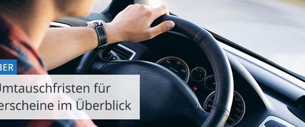 Führerscheine nur noch begrenzt gültig